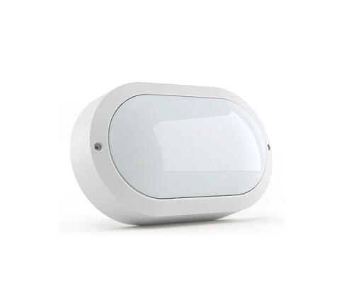 Светодиодный светильник DMS серия HCS Oval 220*134*55мм в комплекте с рассеивателем 10 Вт 5000К световой поток 1350Lm