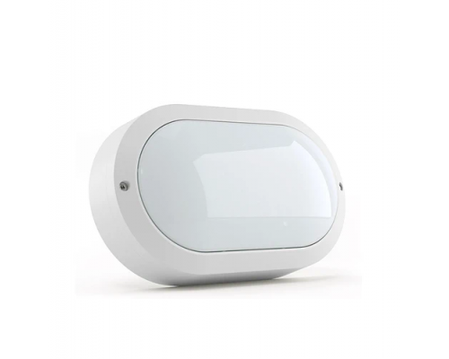 Светодиодный светильник DMS серия HCS Oval 220*134*55мм в комплекте с рассеивателем 20 Вт 5000К световой поток 2700Lm